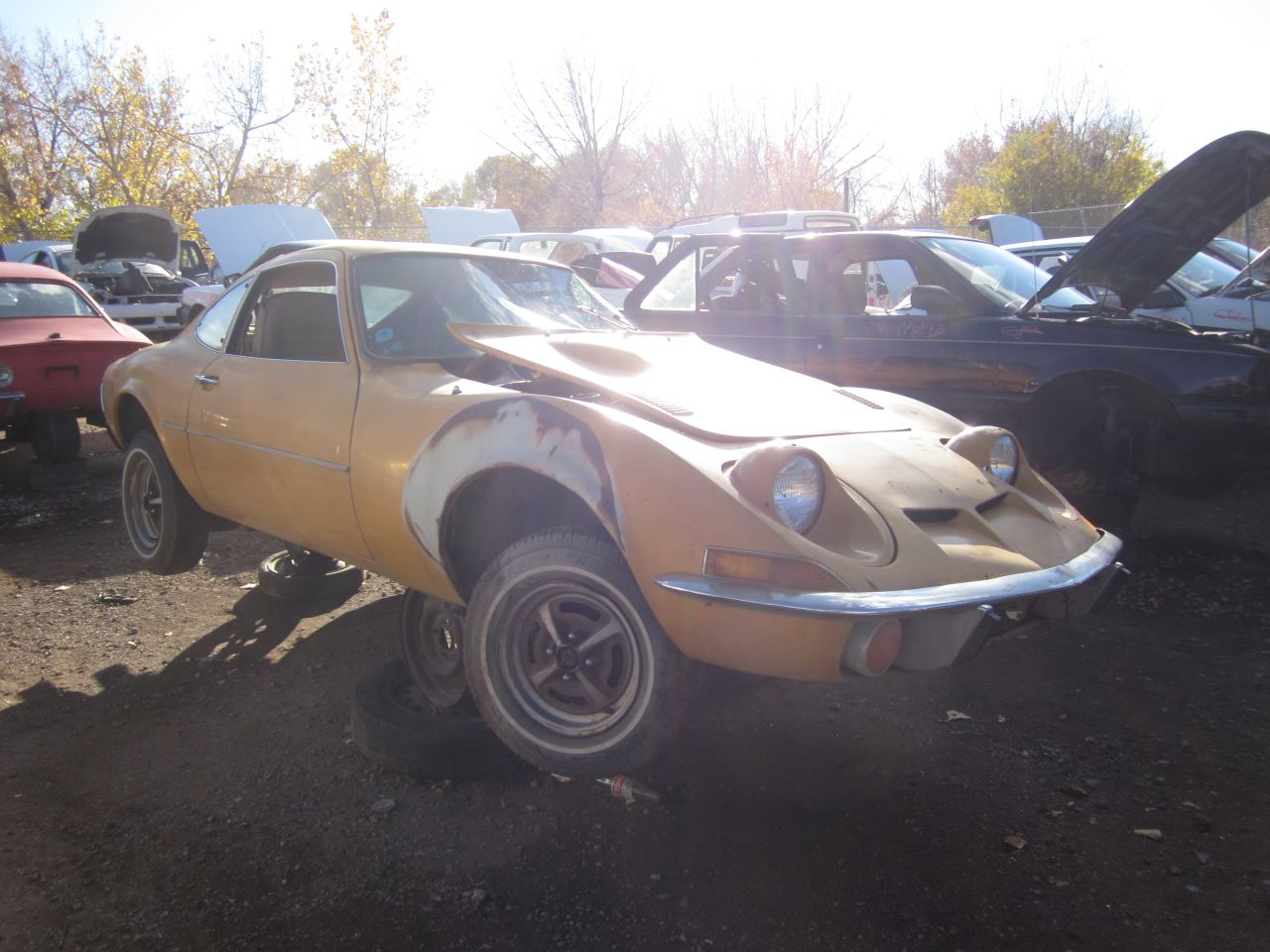 Opel Gt Headlight Lever