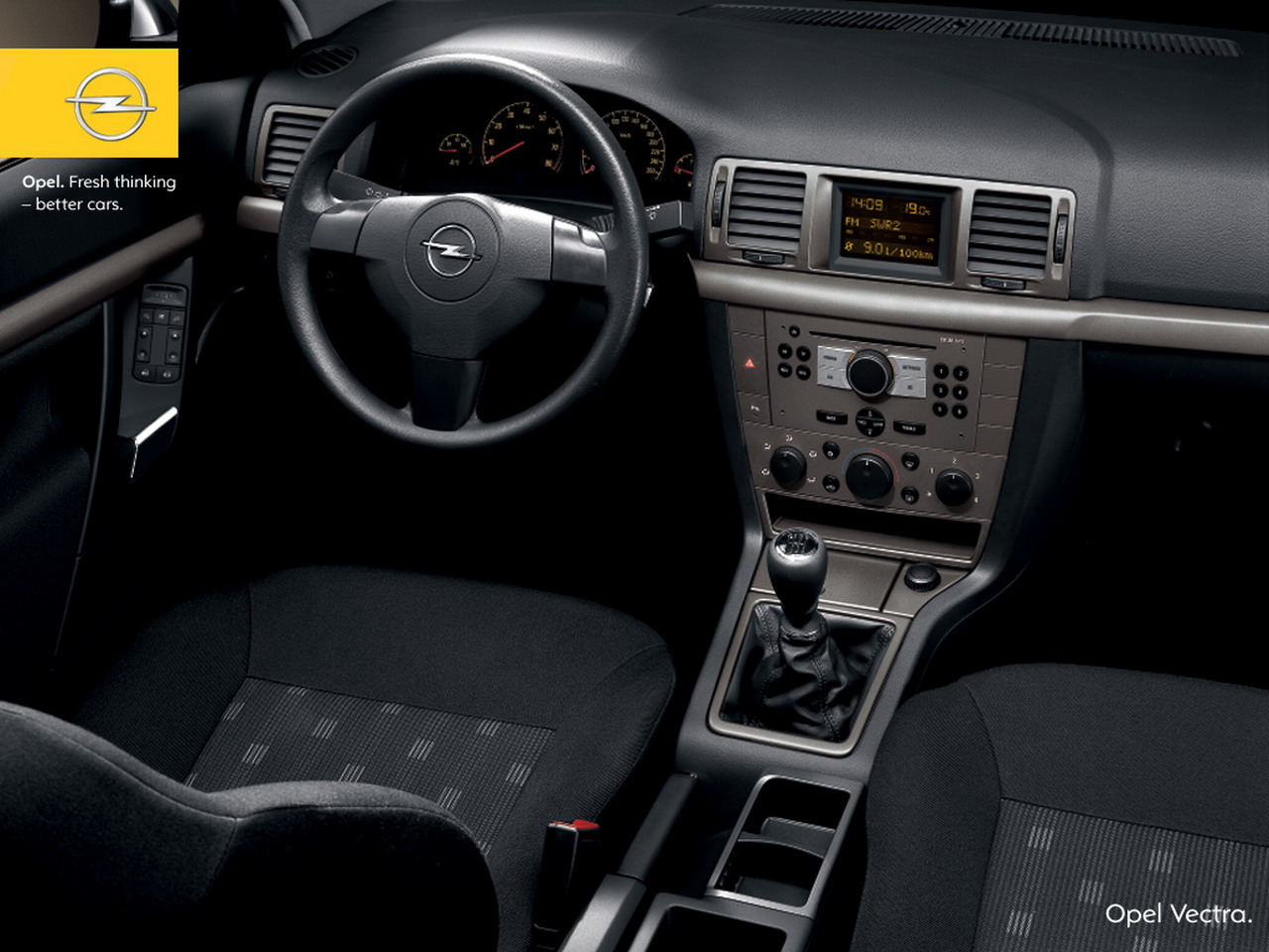 Opel Vectra Interior