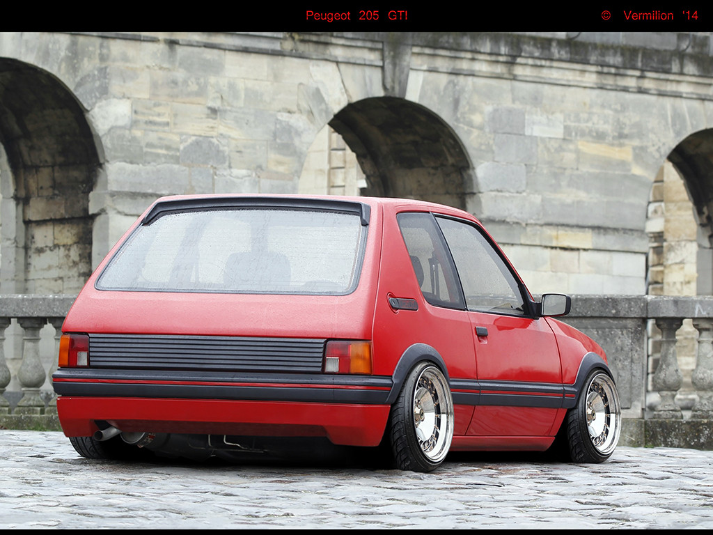 Peugeot 205 Modified