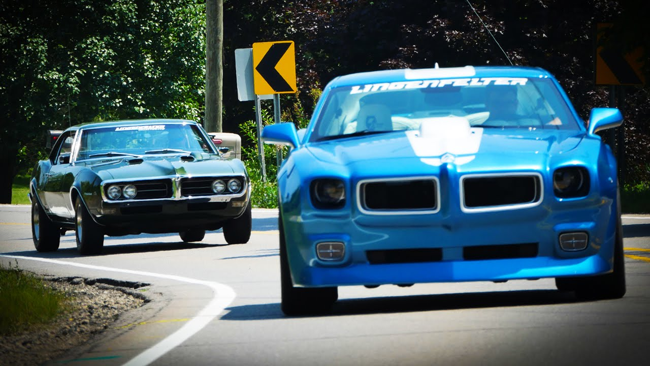 1968 Pontiac Firebird vs 2010 Lingenfelter Trans Am - Generation Gap: Firebirds