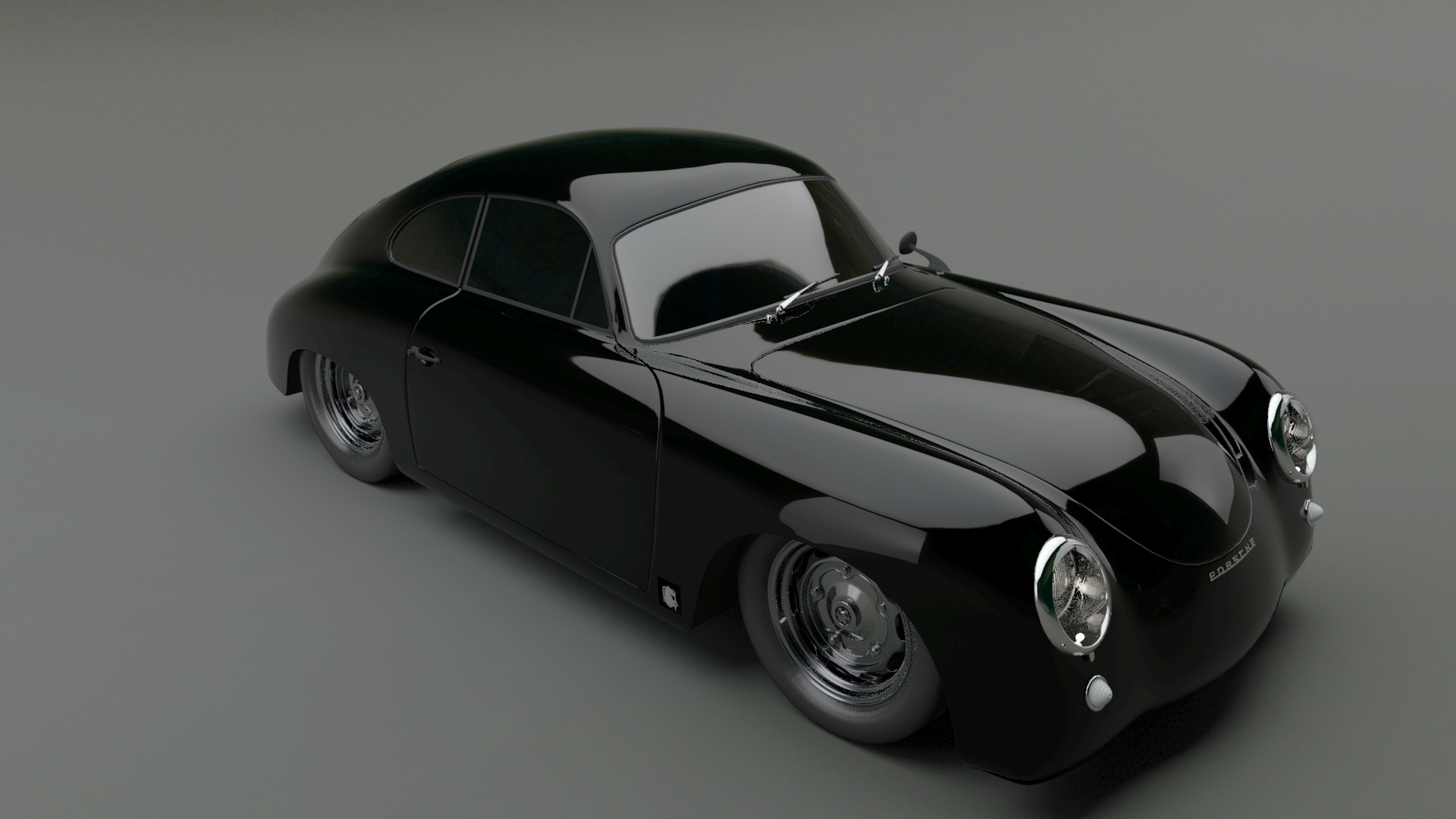 Porsche 356 Coupe Custom
