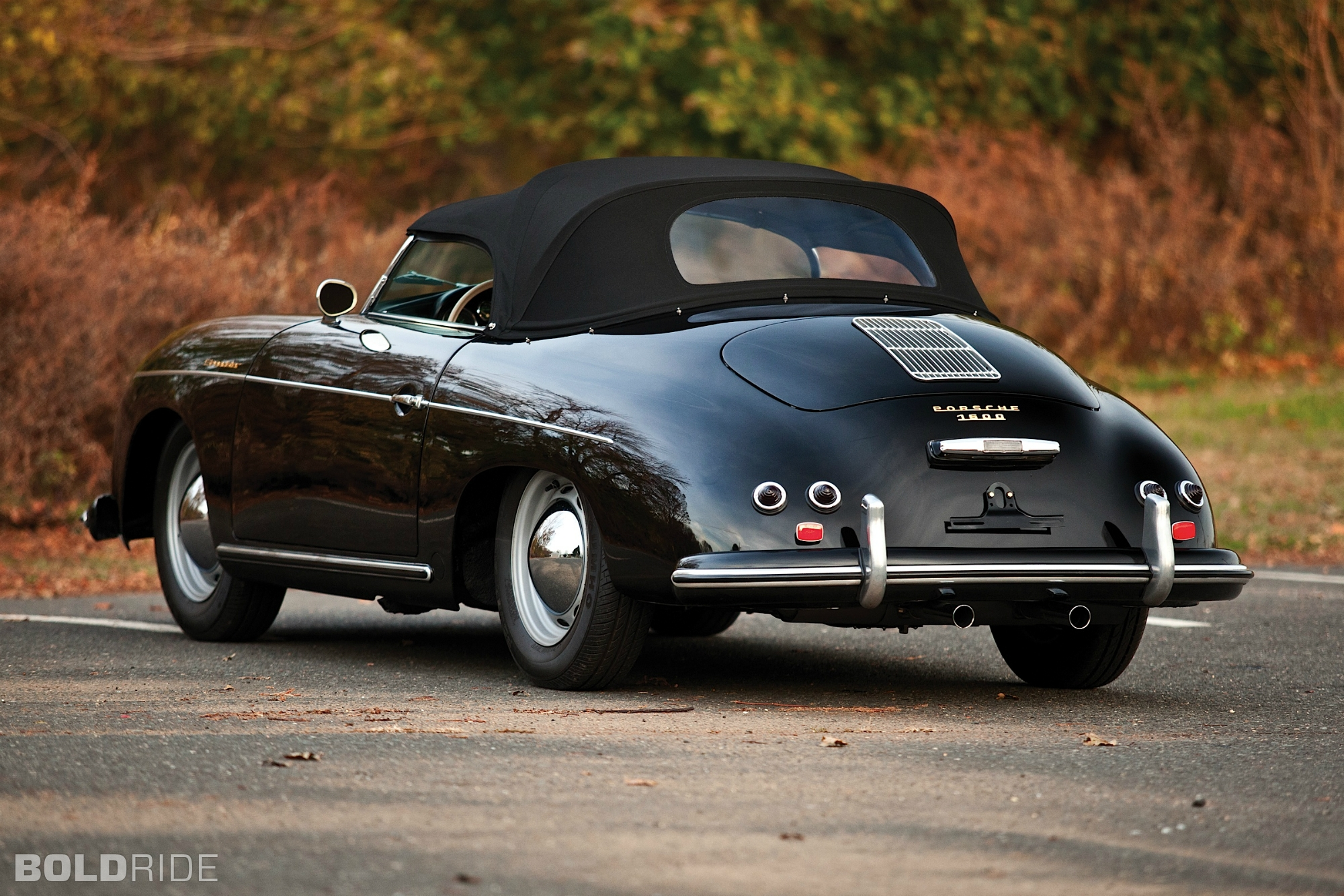 Porsche 356 Speedster Black