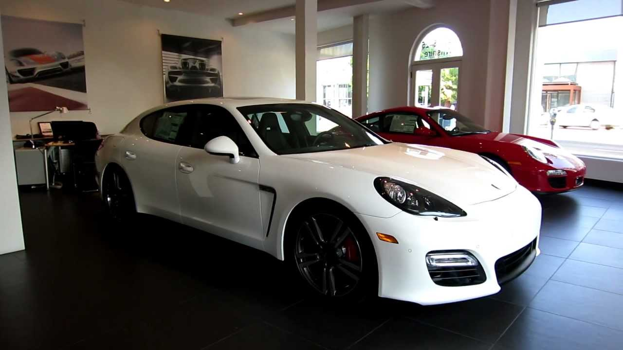 2013 Porsche Panamera GTS White Black full leather with Ventilation in Beverly Hills FOR SALE