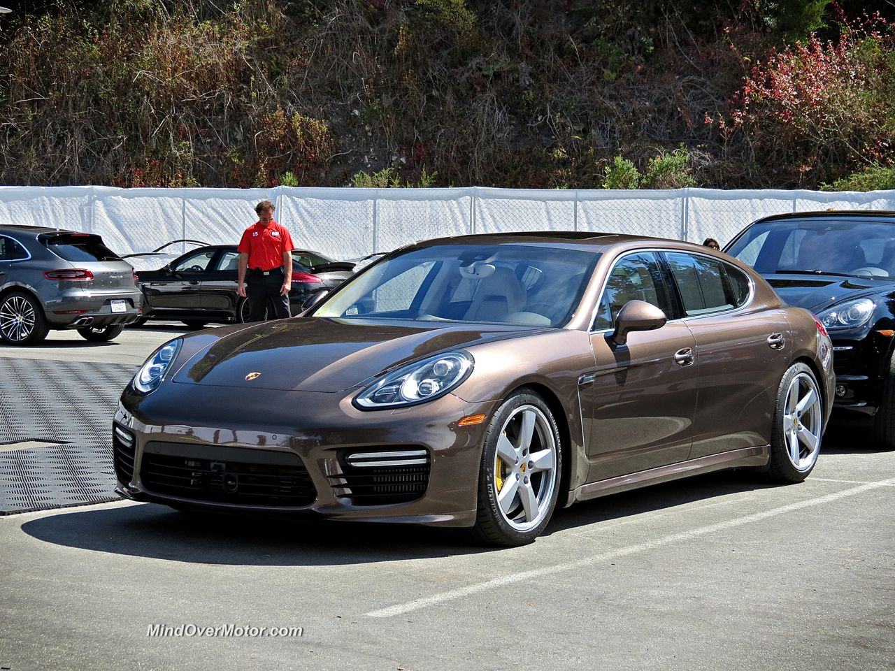 Porsche Panamera Turbo S Executive Front