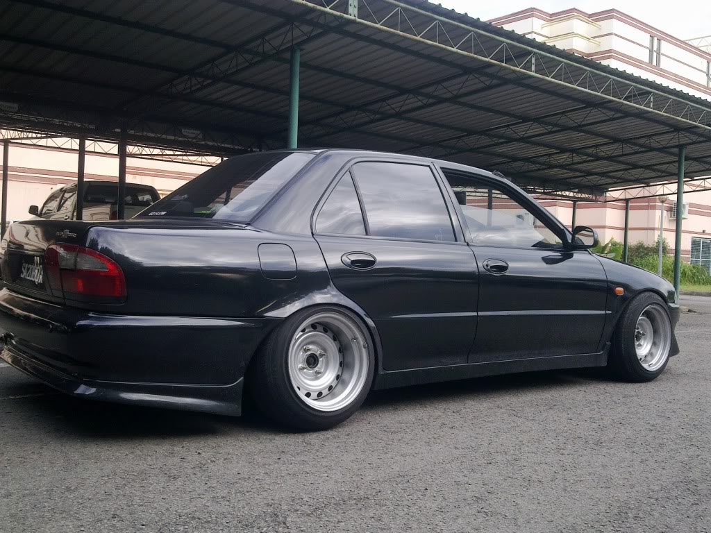 Proton Wira Standard Modified