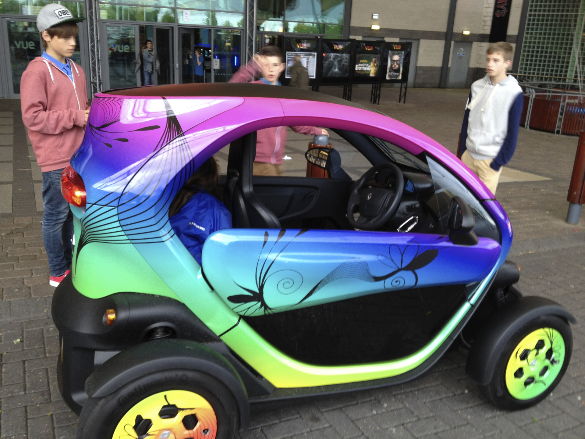 Renault Twizy Vs Smart ForTwo