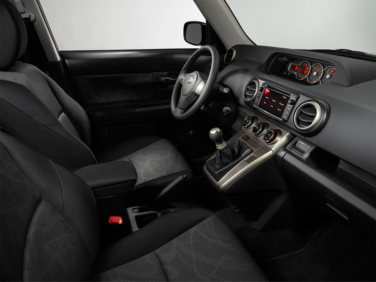 Interior View Of 2015 Scion xB in Orange