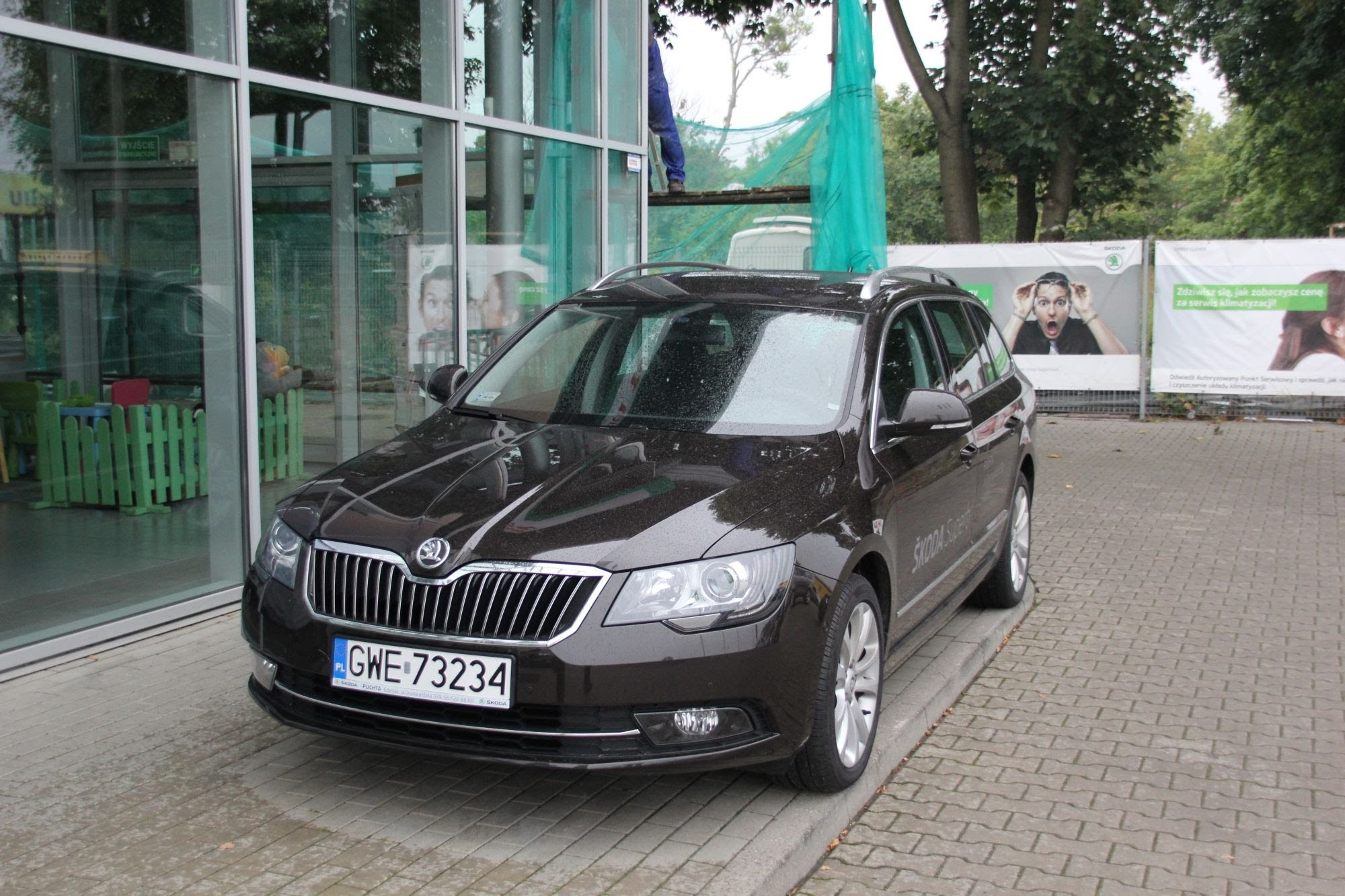 Skoda Superb 2014 Black