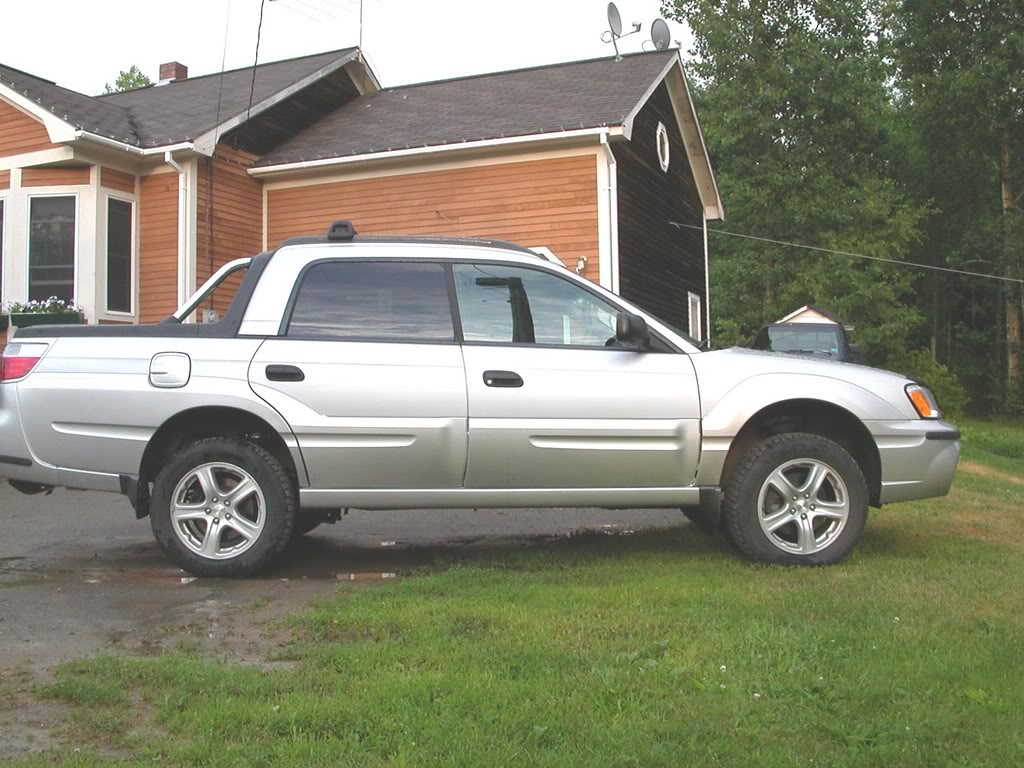 Subaru Baja Lifted