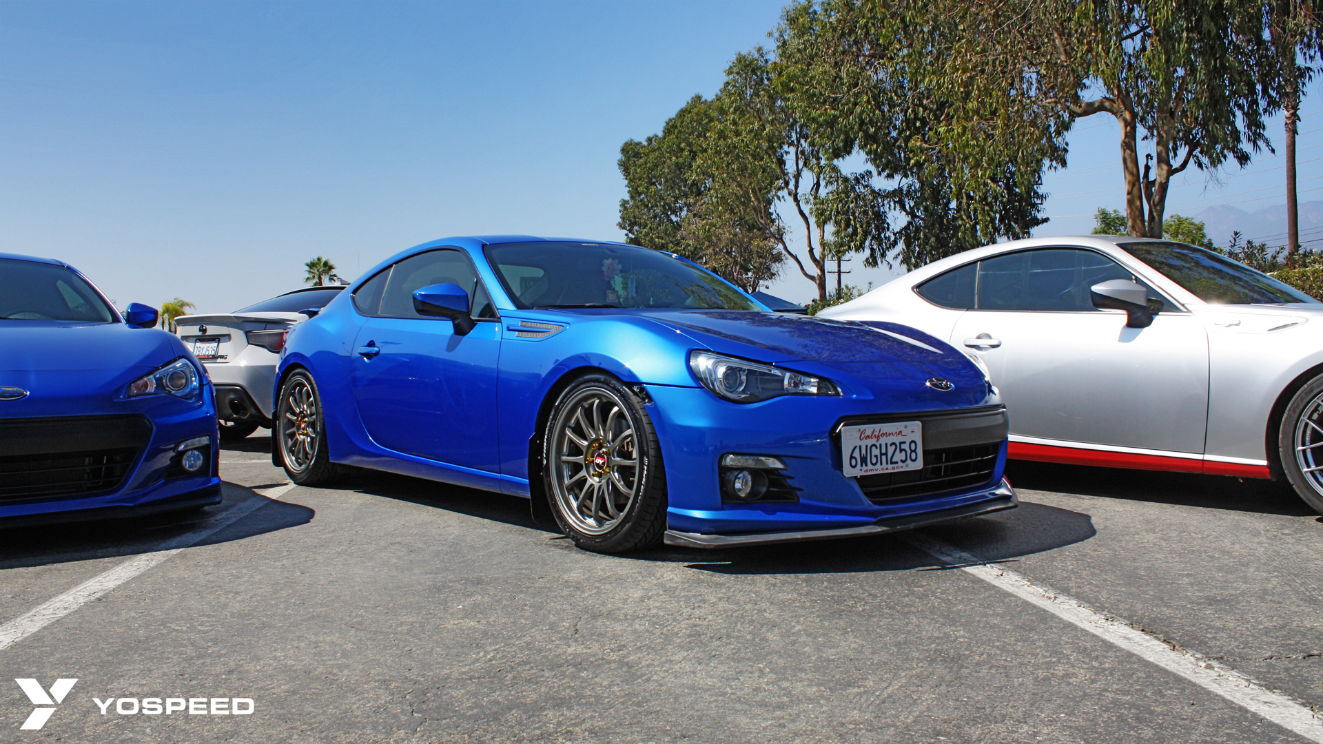 There's something about a Subaru BRZ with World Rally Blue paint. The carbon fiber lip and gunmetal wheels go perfectly with the black and blue theme as ...