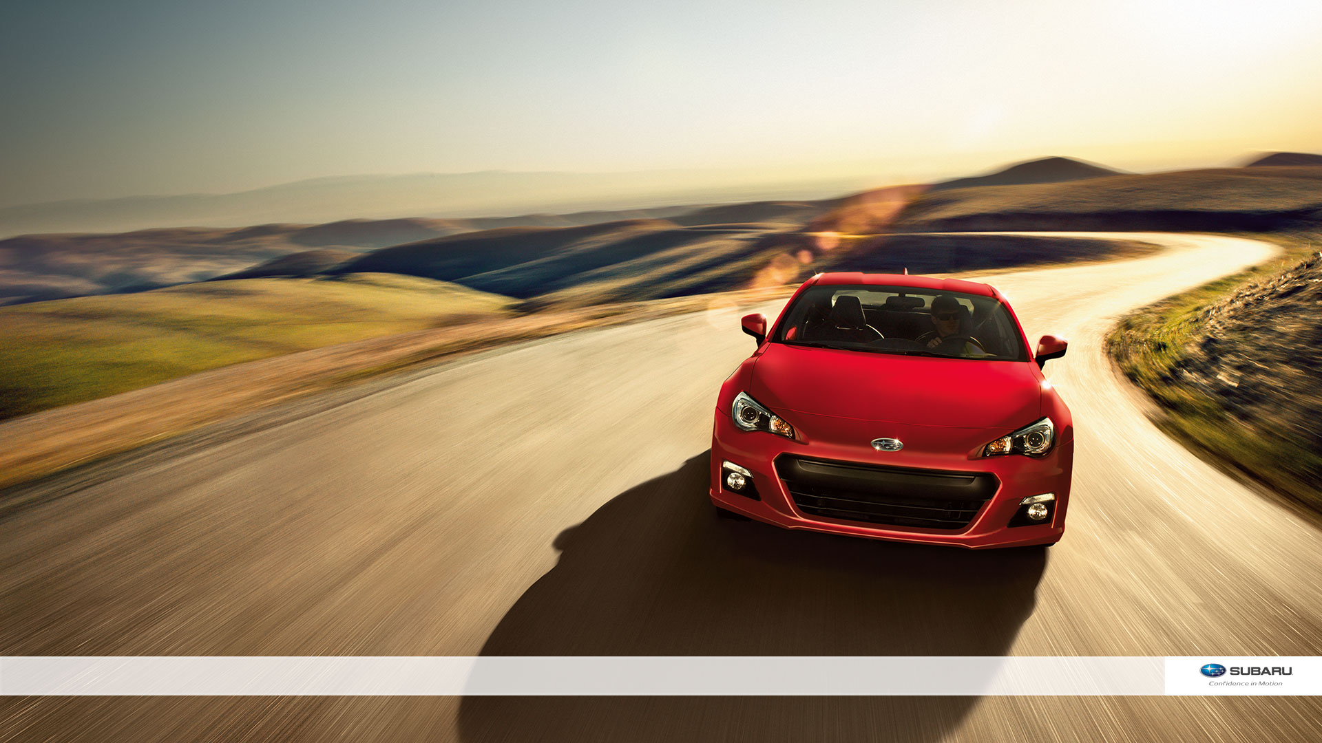 Subaru Brz Red Wallpaper