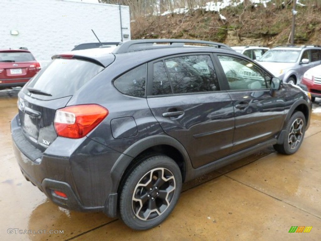 2013 Subaru XV Crosstrek 2.0 Premium - Dark Gray Metallic Color / Black Interior