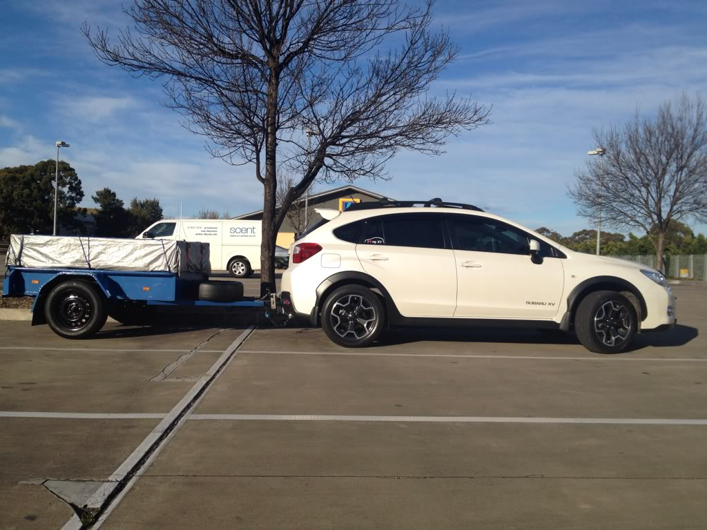 Subaru XV Crosstrek Off Road Tires