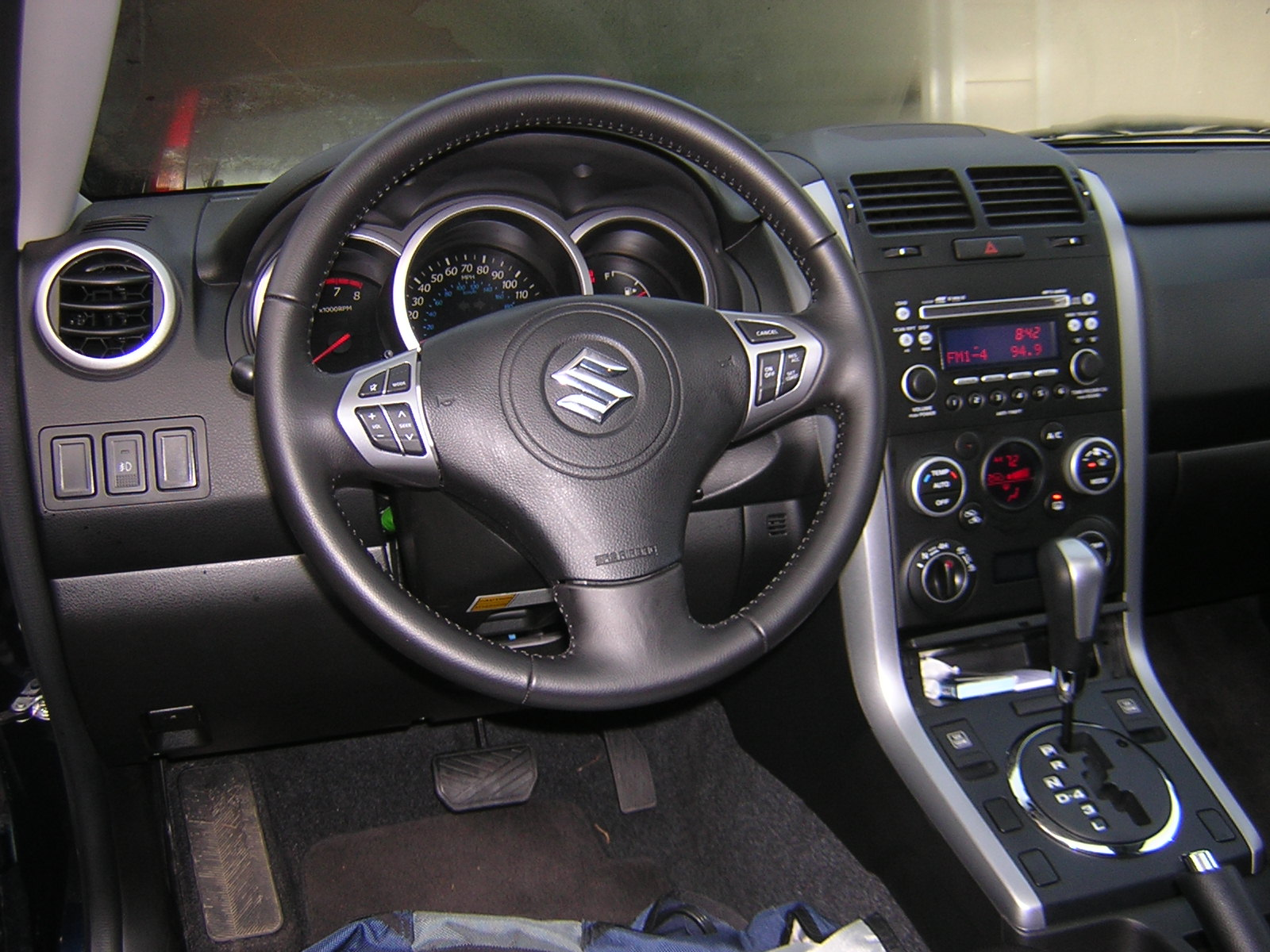 Interior materials on the dash and console were a mix of nicely grained soft-touch plastics and nicely-grained hard plastics. The whole assembly of the ...