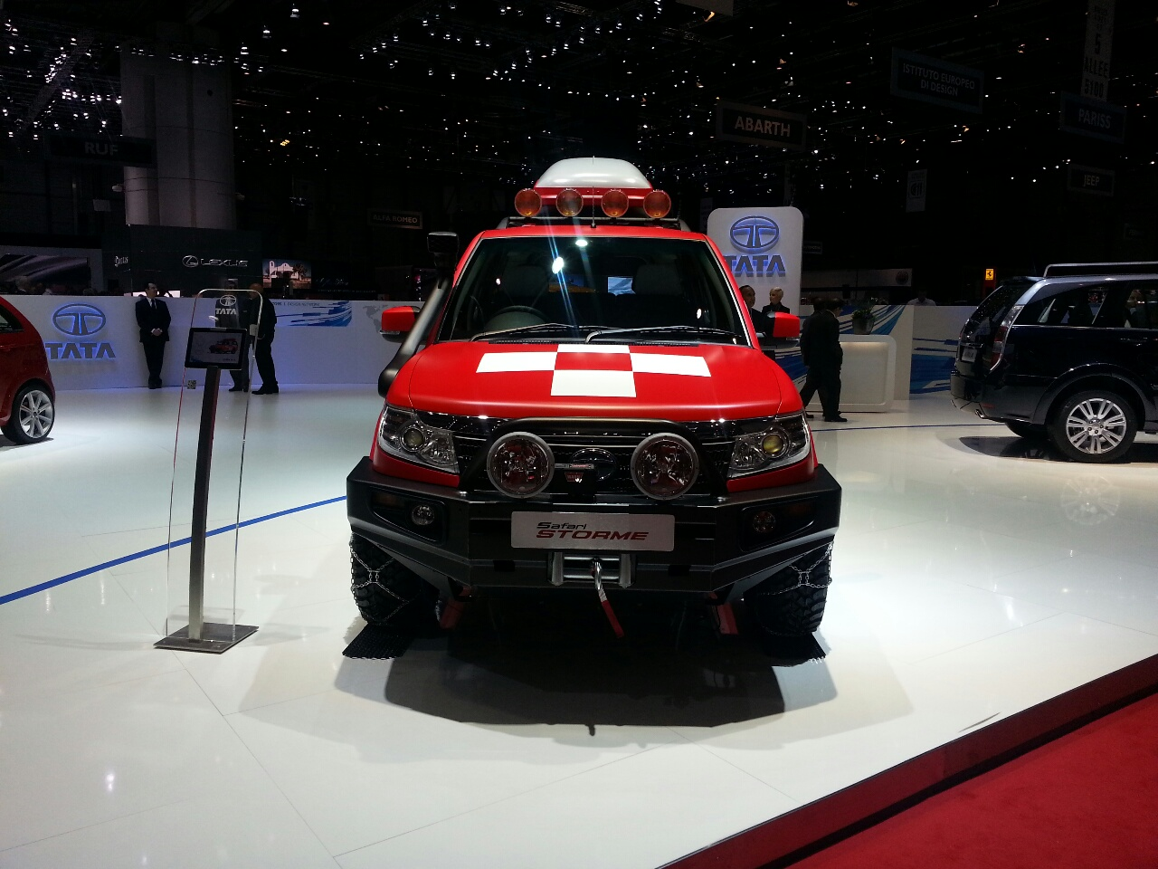 Tata Safari Storme Mountain Rescue ...