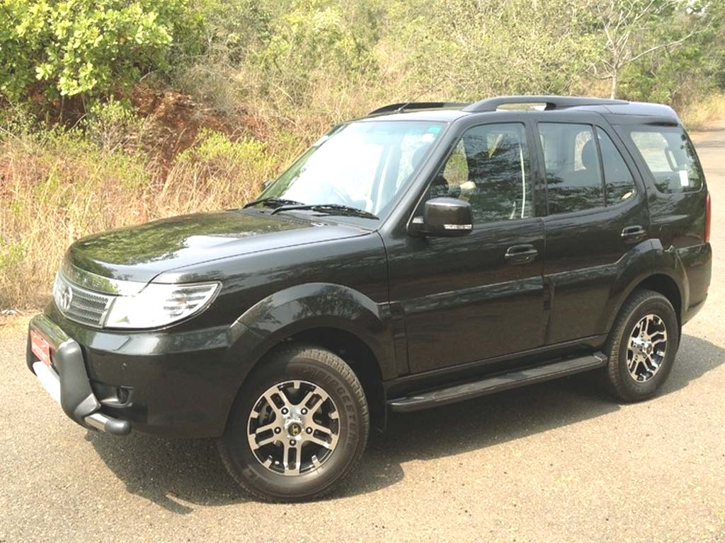 Tata Safari Storme Modified