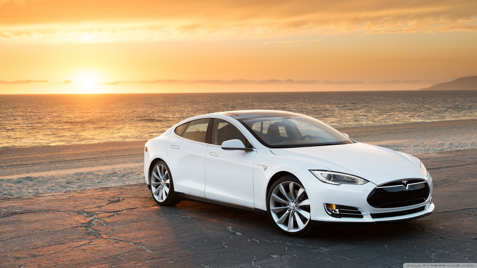 Tesla Model S Wallpaper 1600x900