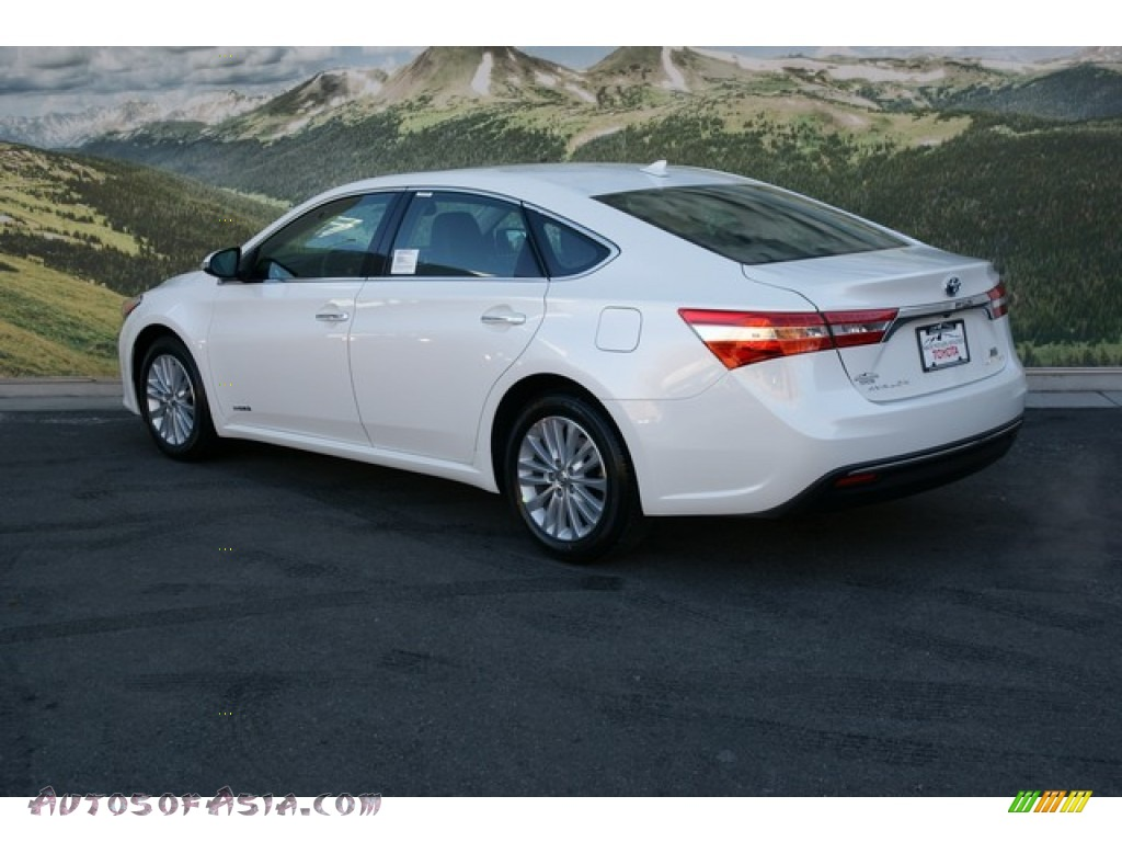 Toyota Avalon 2013 White