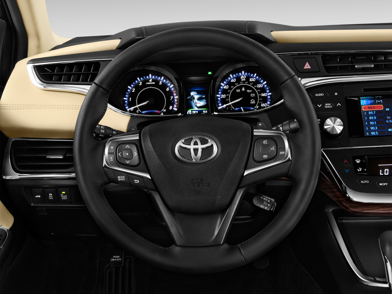 2013 Toyota Avalon XLE Sedan Steering Wheel