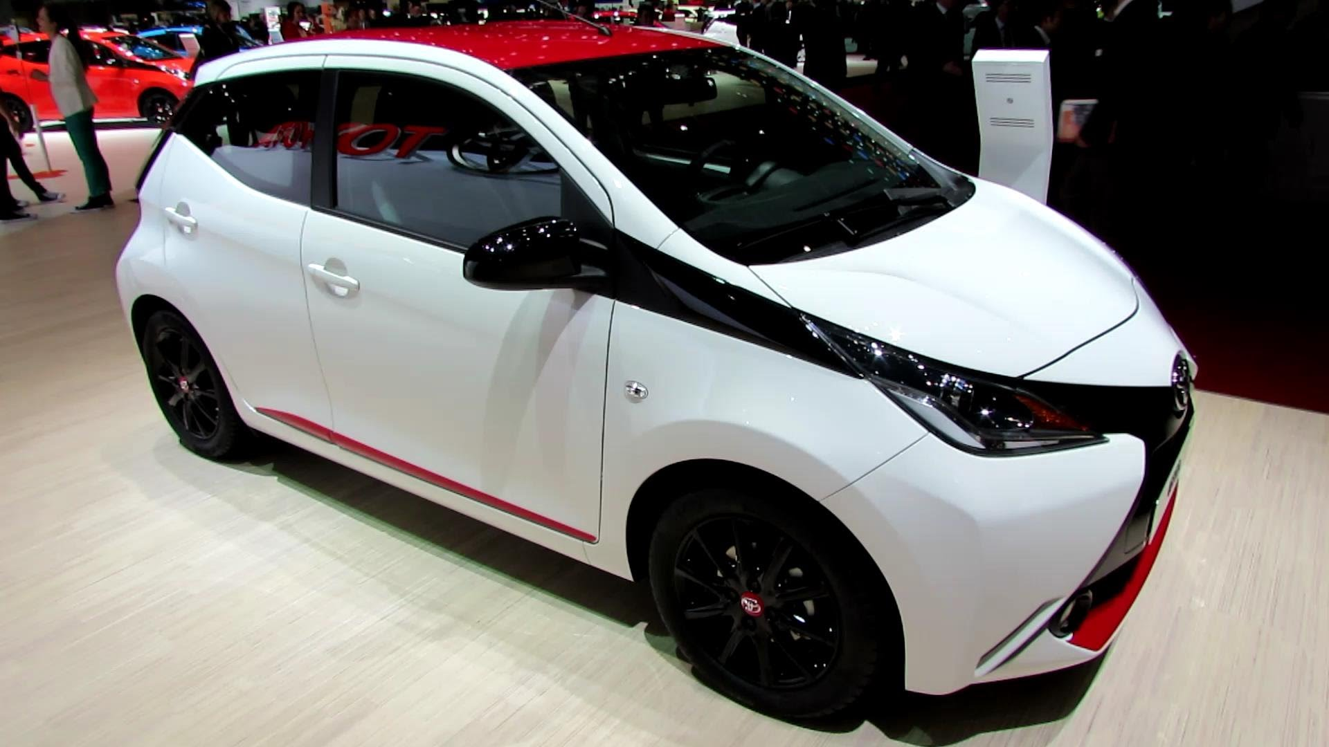 2015 Toyota Aygo x-Play - Exterior and Interior Walkaround - Debut at 2014 Geneva Motor Show
