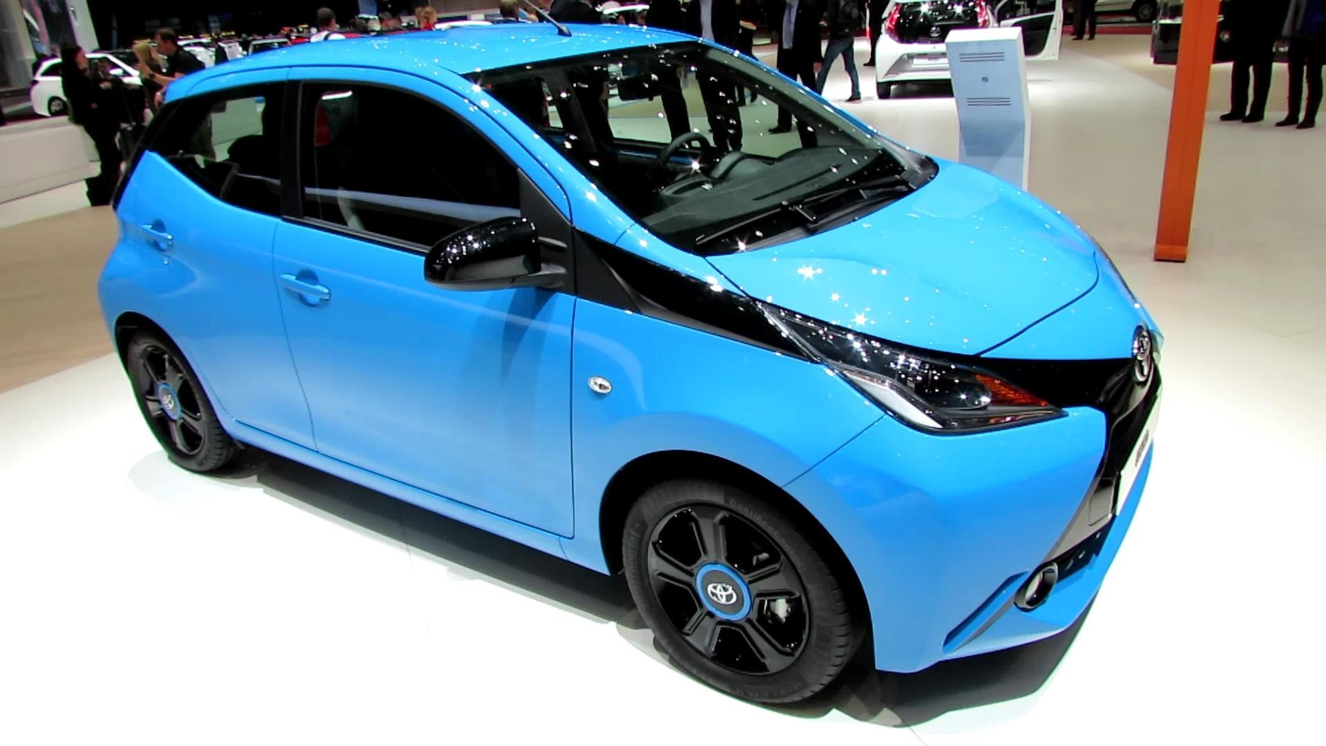 2015 Toyota Aygo - Exterior and Interior Walkaround - Debut at 2014 Geneva Motor Show