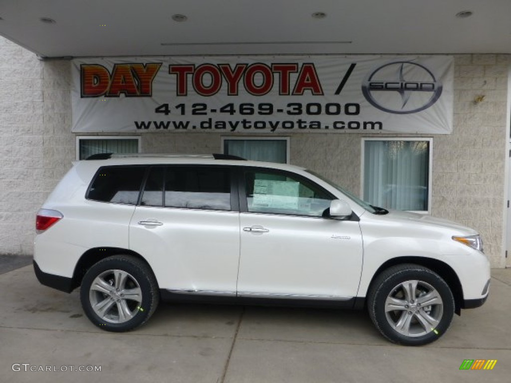 Toyota Highlander 2014 Colors