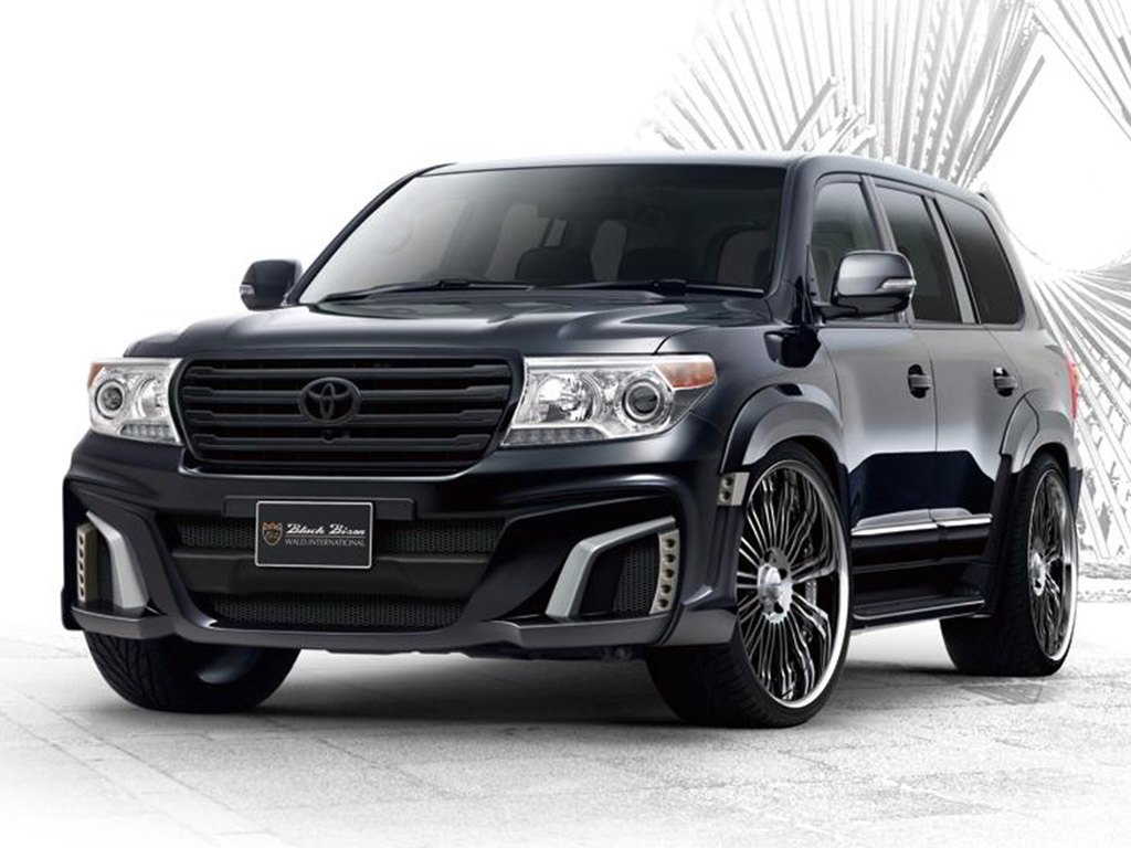 Toyota Land Cruiser 2014 Black