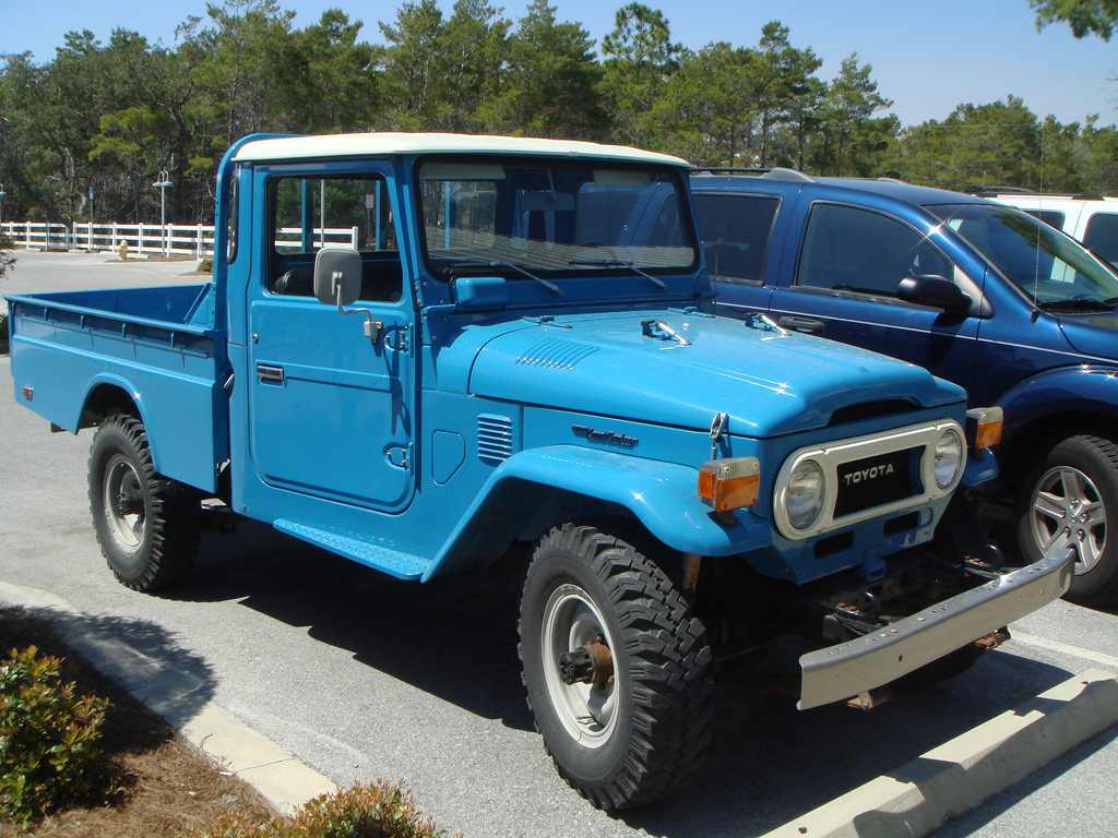 ... 1977 Toyota FJ40 pickup | by candice quates