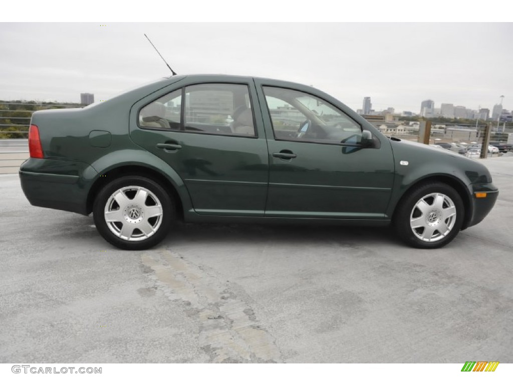 Bright Green Pearl 2000 Volkswagen Jetta GLS VR6 Sedan Exterior Photo #57491902