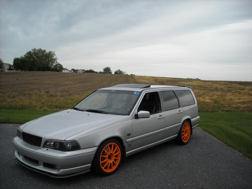 Volvo V90 Lowered