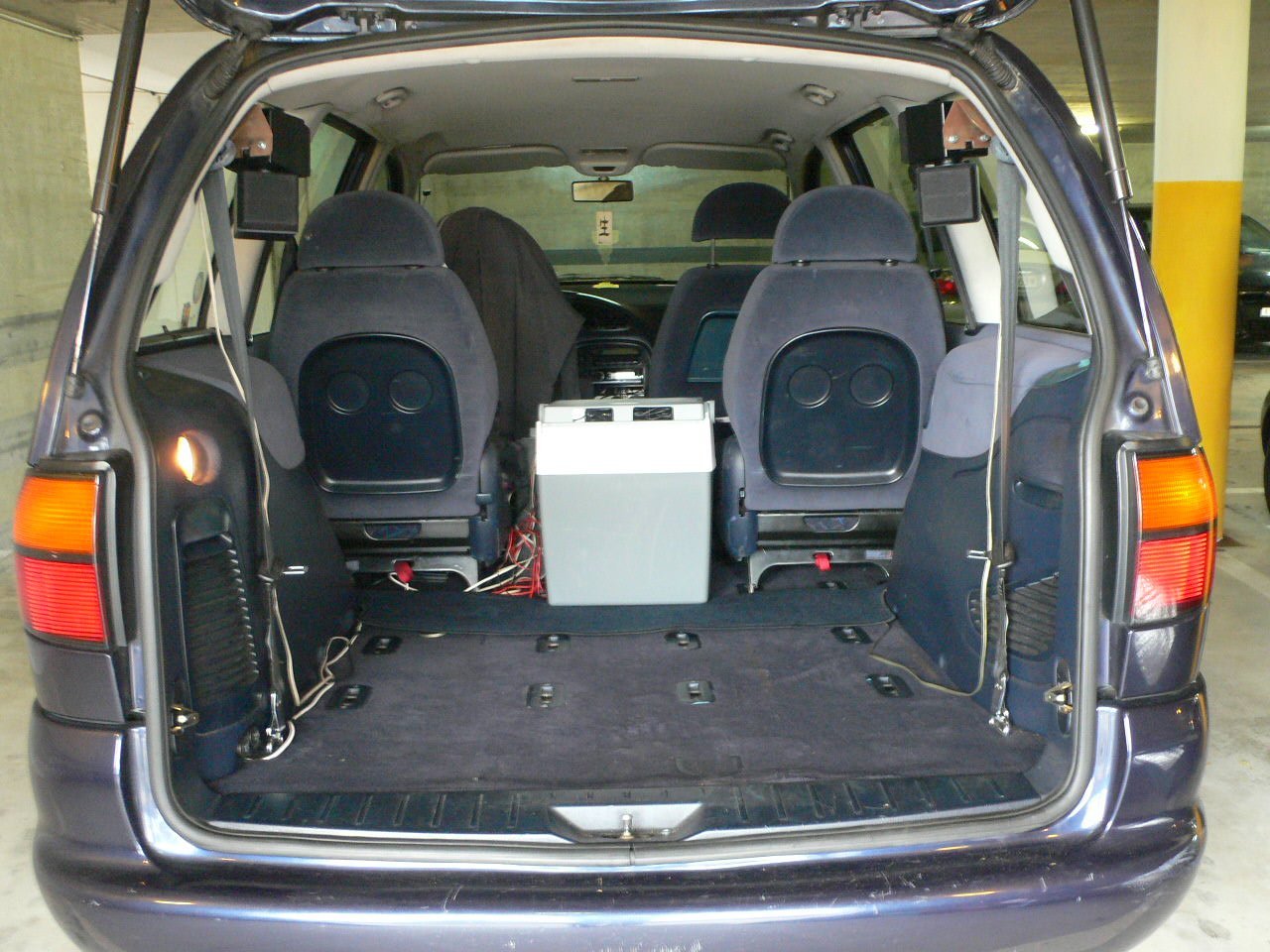 Picture of 1997 Volkswagen Sharan, interior